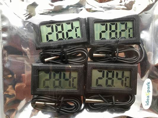 LCD温度計